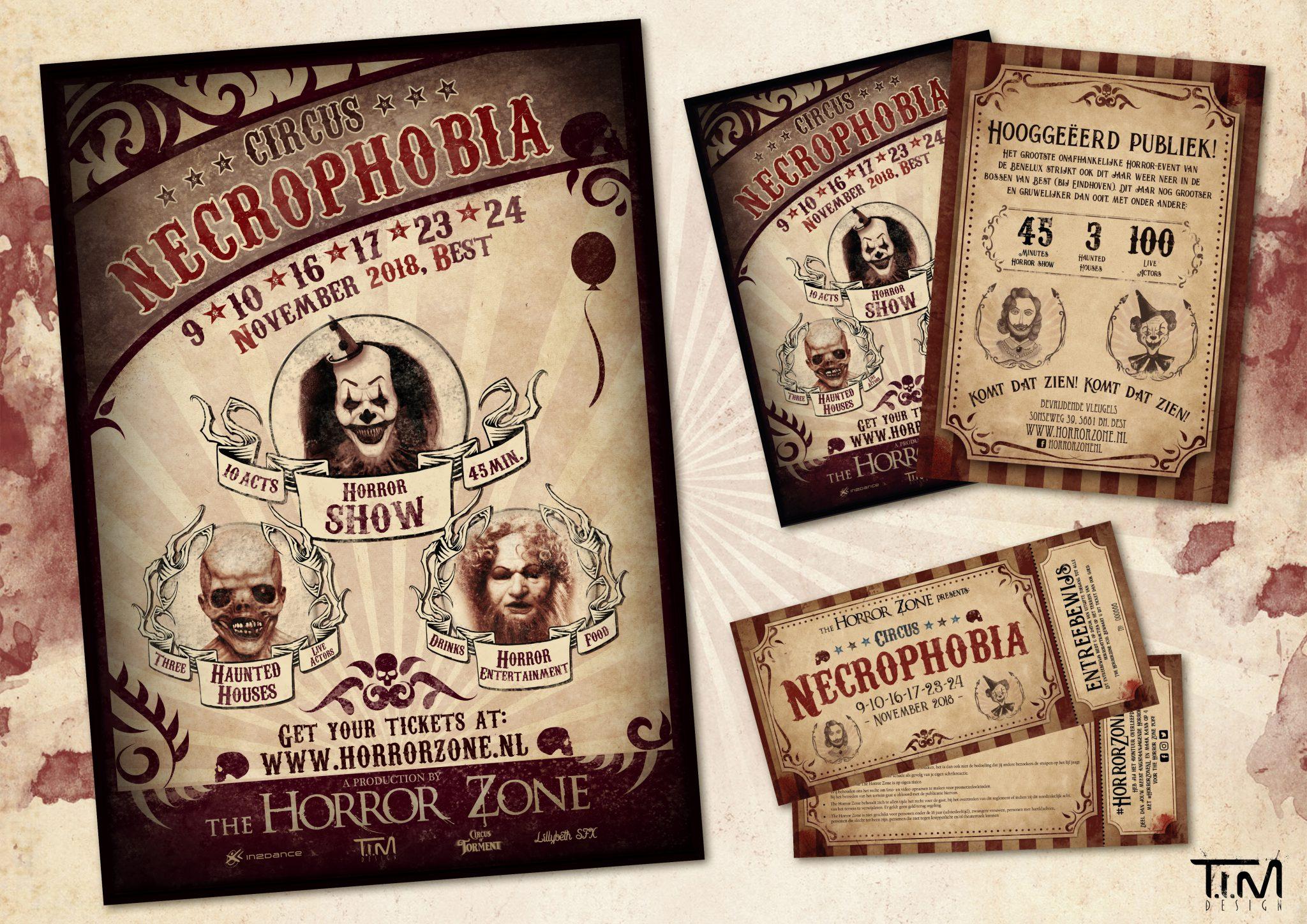 Circus Necrophobia stijl