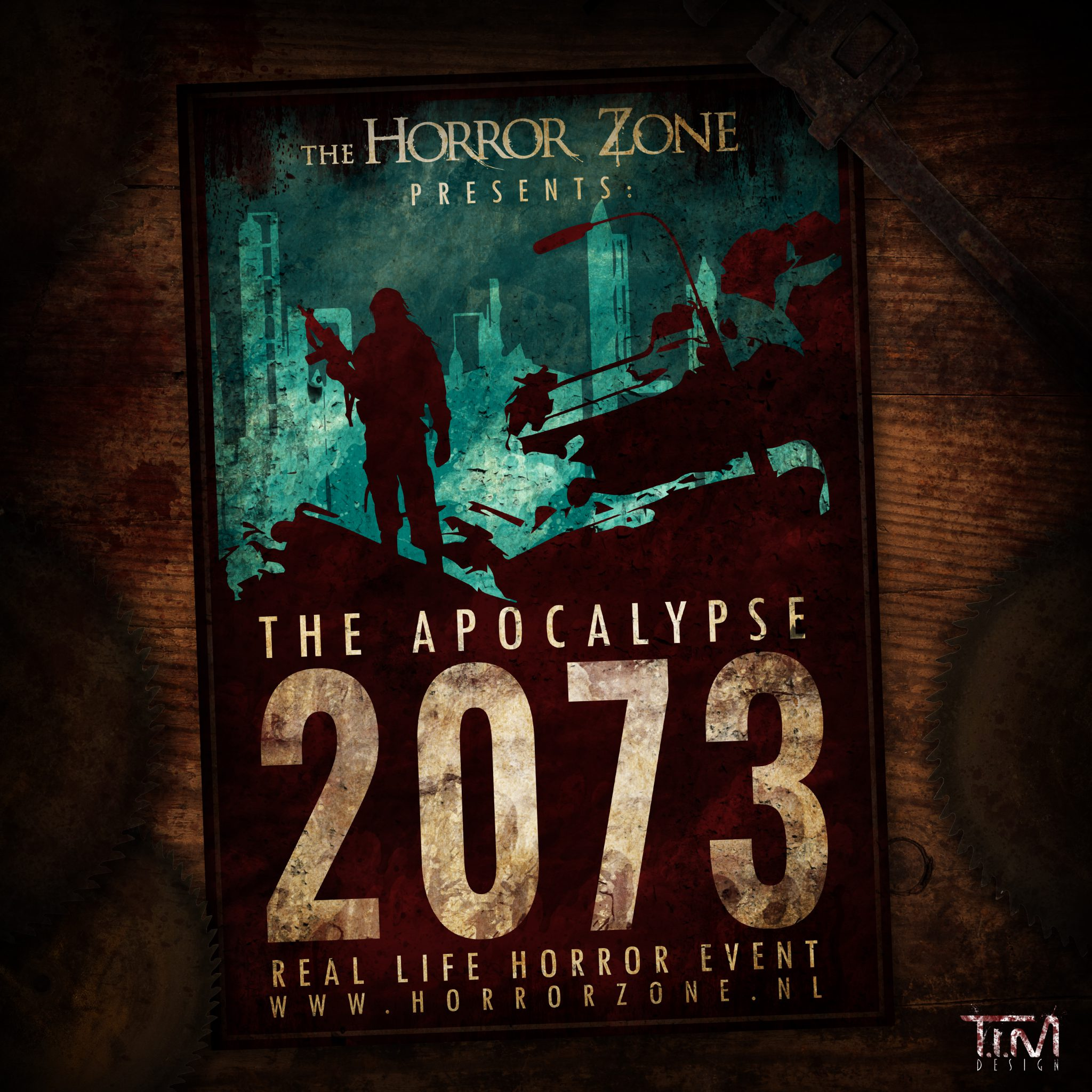 Insta Horror Zone 2073 poster art