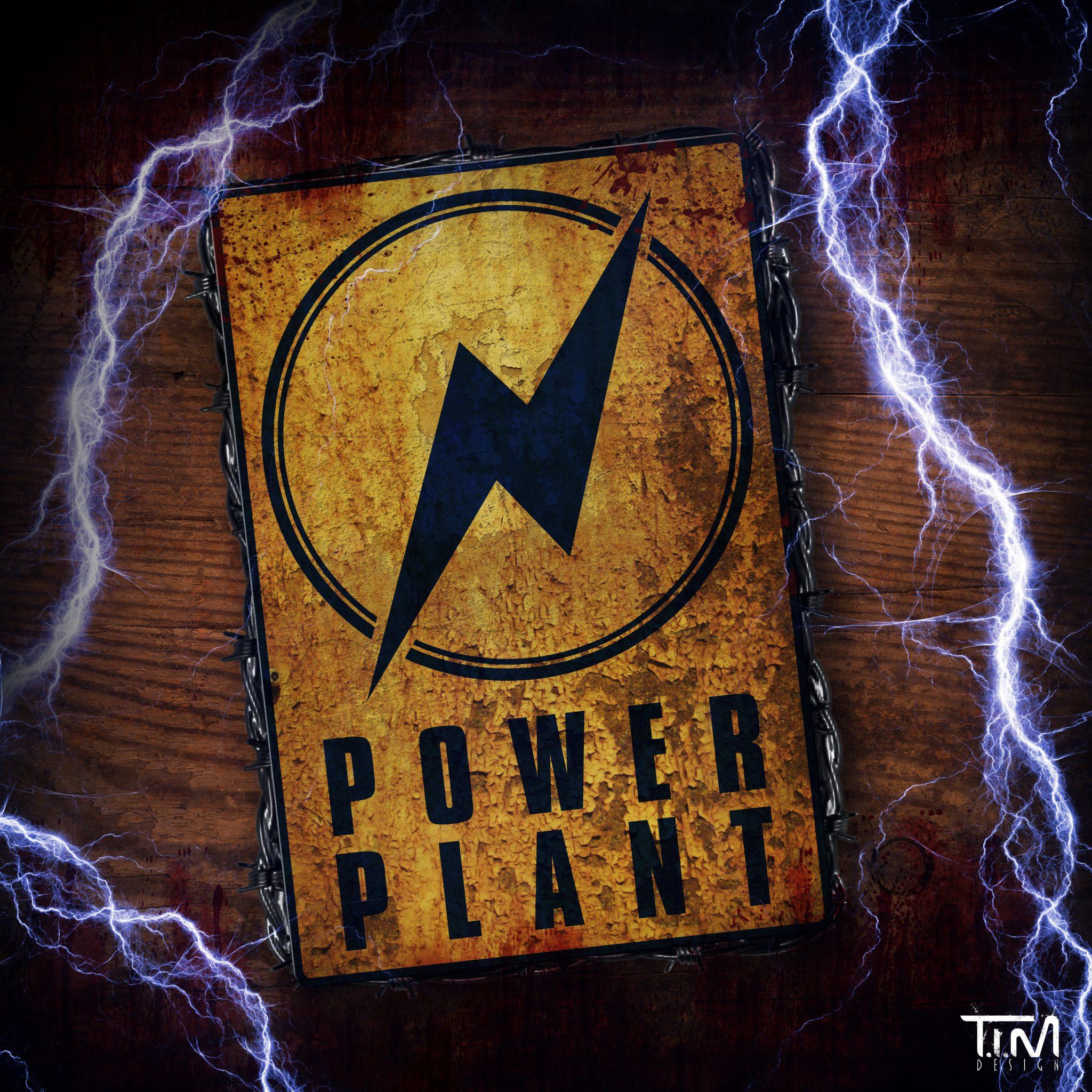 Power Plant logo presentatie