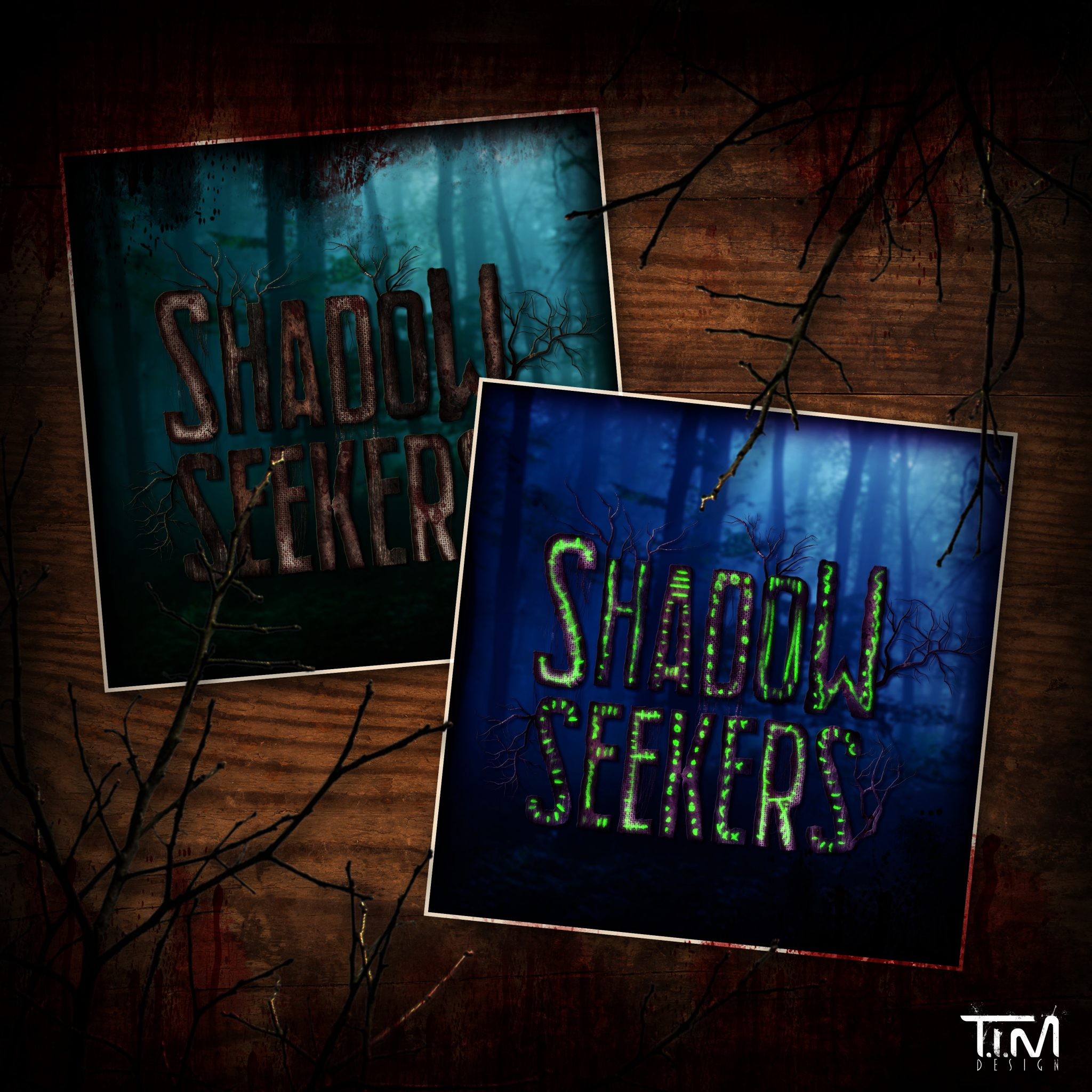 Shadow Seekers logo presentatie
