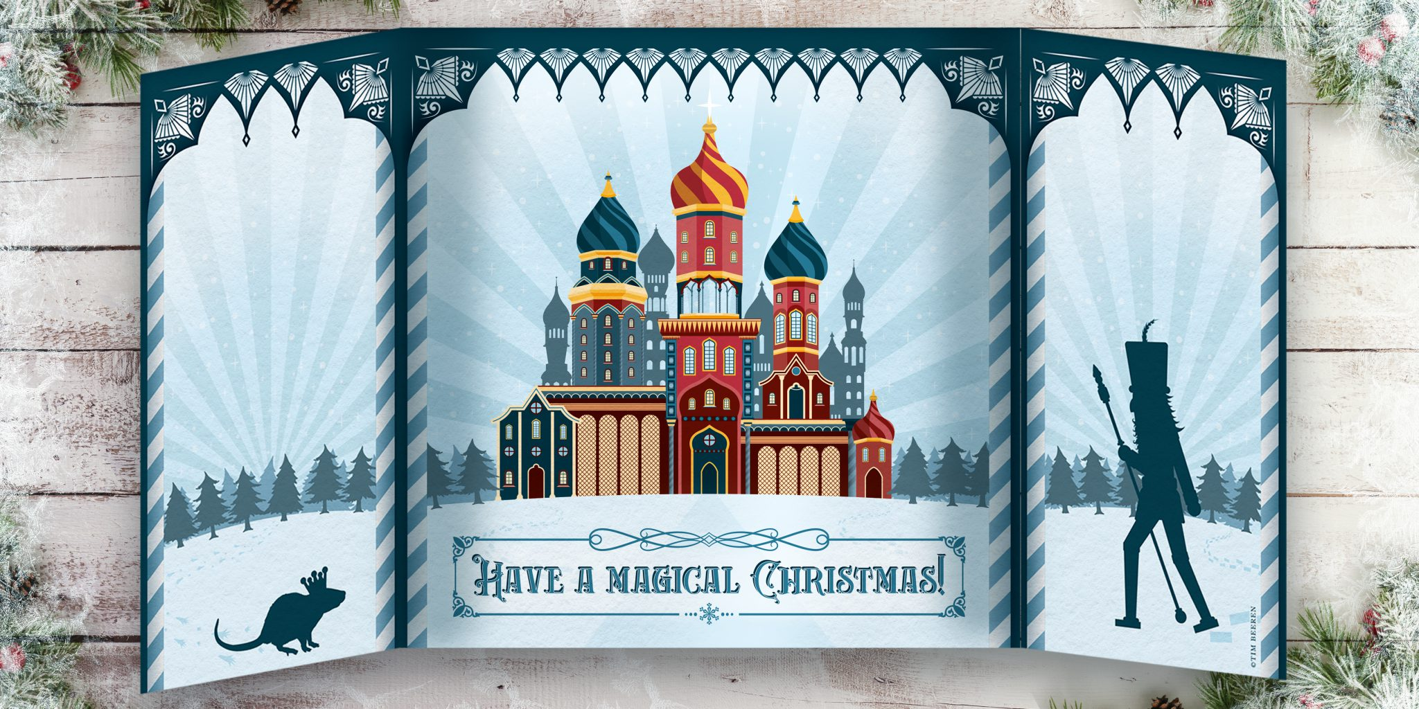 Christmas Postcard Inside
