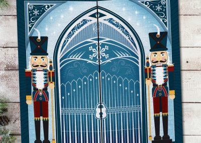 Christmas Postcard front