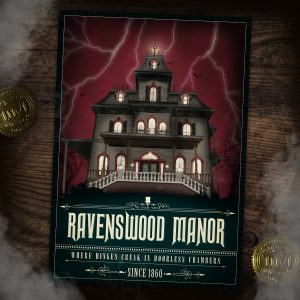 Phantom Manor Poster artwork