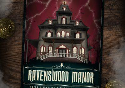 Phantom Manor poster thematisch