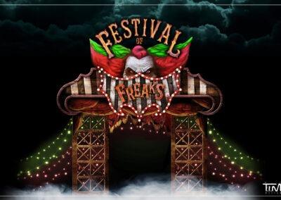 1 ontwerp Festival of Freaks