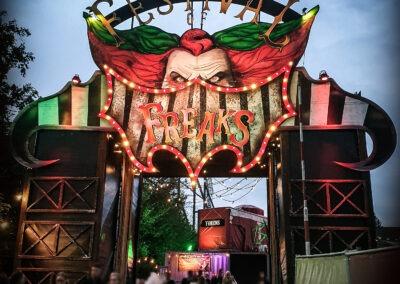 3 uitvoering festival of freaks